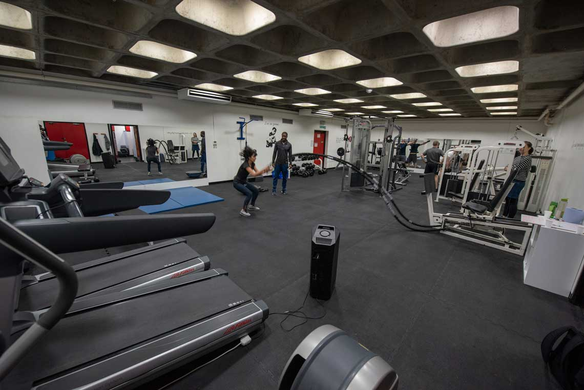 Photo of inside the SW1 Fitness Gym